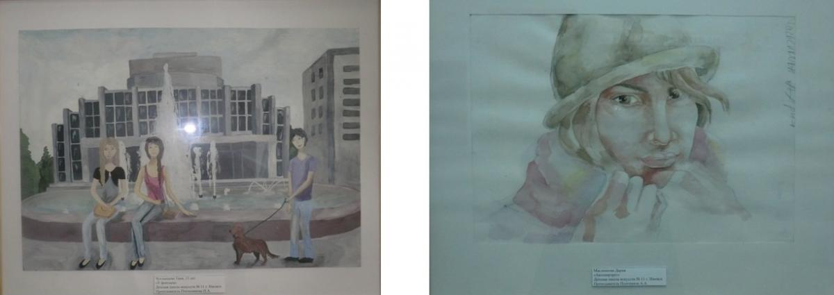 Выставка дипломных работ учащихся ДШИ № cimg2001 jpg